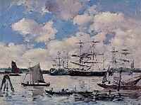 Near Rotterdam, 1876, boudin