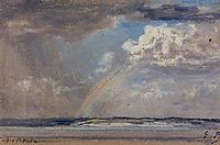 Norman Beach, Arcenciel, c.1873, boudin