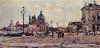Pier in Venice, 1895, boudin