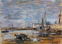 Port at Low Tide, boudin