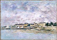 The Port, Trouville, c.1886, boudin