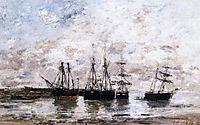 Portrieux, 1869, boudin