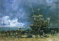 Return of the Terre Neuvier, 1875, boudin