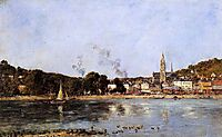 The Rocks of l-Ilette and the Fortifications, 1893, boudin