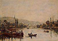 Rouen, the Santa-Catherine Coast, Morning Mist, 1895, boudin