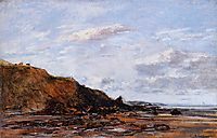 The Sea at Douarnenez, 1897, boudin
