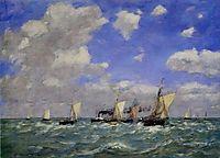 Sea, 1889, boudin