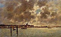 The Seashore, c.1860, boudin