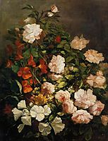 Spray of Flowers, 1858, boudin
