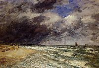 A Squall from Northwest, 1895, boudin