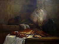Still Life with Skate, 1861, boudin