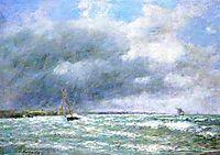 The Stranded Boat, 1889, boudin