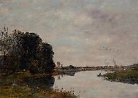 The Toques at Saint-Arnoult, 1893, boudin