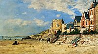 The Tower Malakoff and the Trouville Shore, 1877, boudin