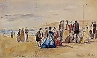 Trouville, 1869, boudin