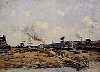 Trouville, the Ferry to Deauville, 1880, boudin