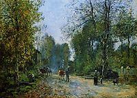 Trouville, Le Chemin de la Corderie, 1878, boudin