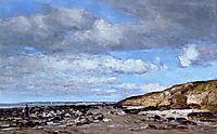 Trouville, Shore and Rocks, c.1862, boudin