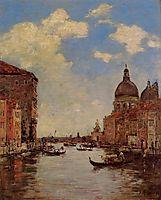 Venice, c.1895, boudin