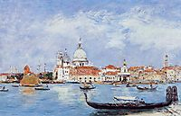 Venice, View from the Grand Canal, 1895, boudin