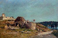Villefranche, the Citadel, 1892, boudin