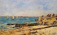 Villerville, the Shore, 1896, boudin