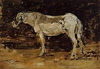 The White Horse, c.1887, boudin