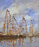 Yacht Basin Trouville-Deauville, 1895-1896, boudin