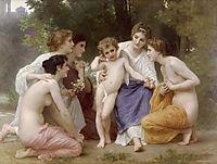 Admiration, 1897, bouguereau