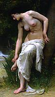 After the Bath, 1894, bouguereau