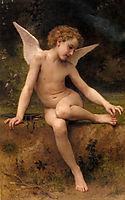 L-Amour à l-Epine (Cupid, Spine), 1894, bouguereau
