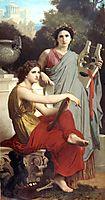 Art and Literature, c.1867, bouguereau