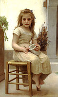 At Snack Time, 1895, bouguereau