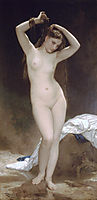 Bather, 1870, bouguereau