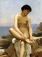 The Bather, 1879, bouguereau