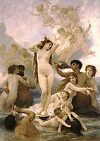 Birth of Venus, 1879, bouguereau
