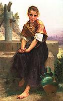 The Broken Pitcher, 1891, bouguereau