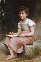 A Calling, 1896, bouguereau