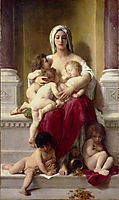 Charity, c.1878, bouguereau