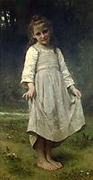 The Curtsey, 1898, bouguereau