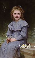 Daisies, 1894, bouguereau