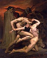 Dante and Virgil in Hell, 1850, bouguereau