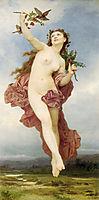 The Day, 1884, bouguereau