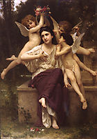 A Dream of Spring, 1901, bouguereau