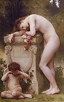 Elegy, 1899, bouguereau