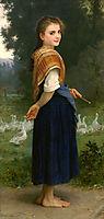 The Goose Girl, 1891, bouguereau