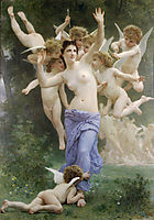 The Heart-s Awakening, 1892, bouguereau