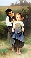 The Jewel of The Fields, 1884, bouguereau
