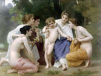 Ladmiration, 1897, bouguereau