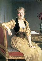 Lady Maxwell, 1890, bouguereau